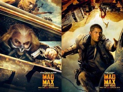 Acción y lucha en cuatro nuevos carteles de Mad Max