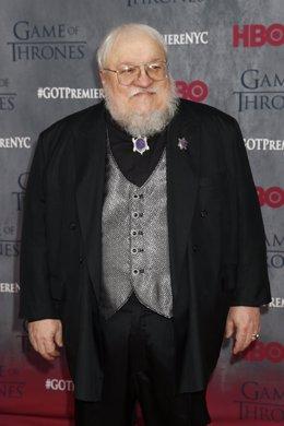 George R.R. Martin, autor de Juego de tronos (Game of Thrones)