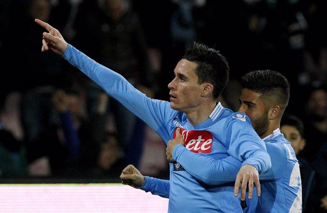 Callejón vuelve a marcar con el Nápoles