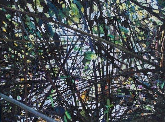 Abstracción vegetal, Javier Buzón