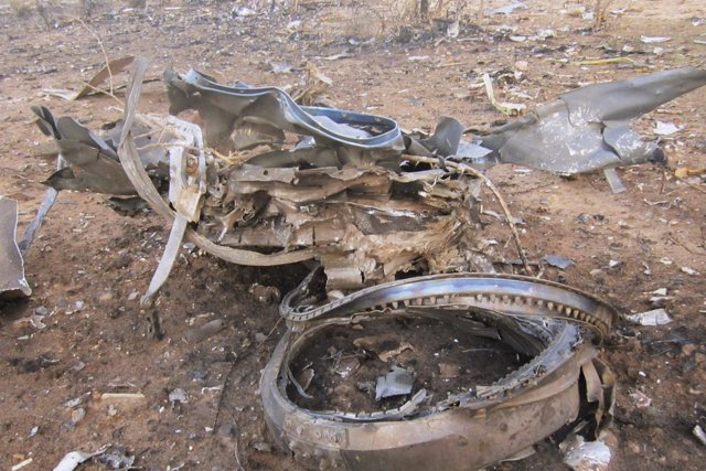 Avión de Swiftair estrellado en Malí