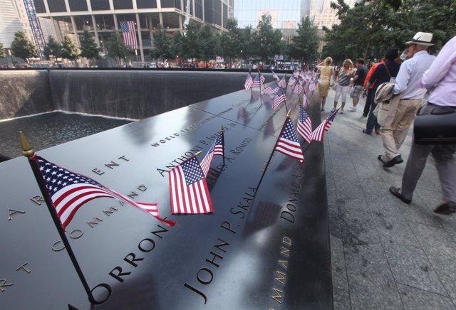 Duodécimo aniversario de los atentados contra el World Trade Center.