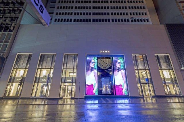 Zara en Hong Kong Inditex