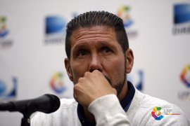 """Simeone: """"El equipo siempre tuvo la intención de querer ganar"""""""