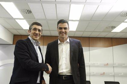 """López afirma que """"se va a ver que todo el PSOE está detrás de la dirección y empujando con el mismo rumbo"""""""