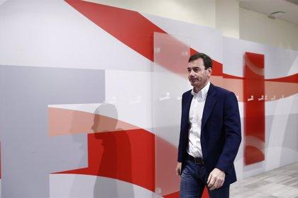"""Gómez cree que en la nueva Ejecutiva se ve que el PSOE va a """"dar la pelea"""" en Madrid y Valencia"""