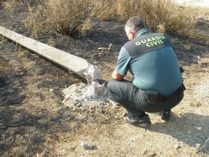 Imputados dos trabajadores de una empresa por el incendio forestal de la Sierra de Rena