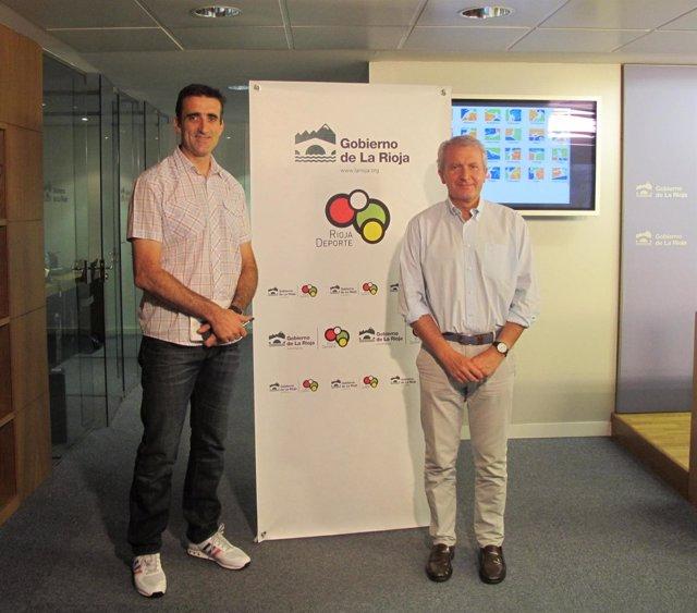 Del Río y Moreno, en la presentación