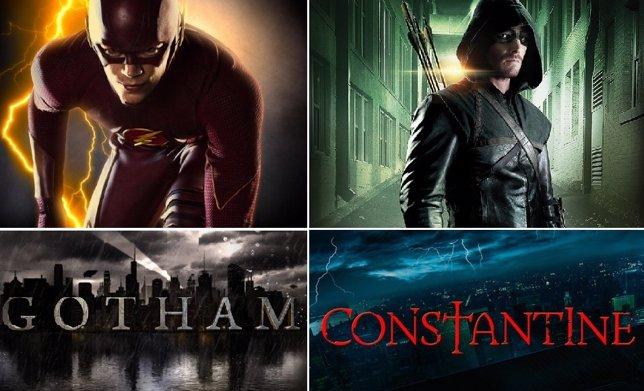 Nuevos logos de Gotham, The Flash, Arrow y Constantine