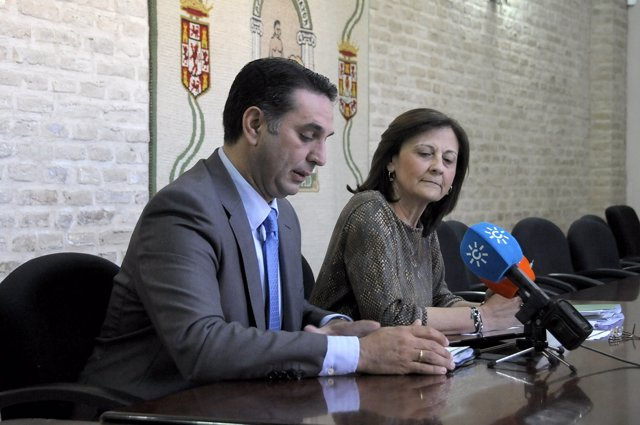 Francisco Javier Fernández y Aurora Cosano