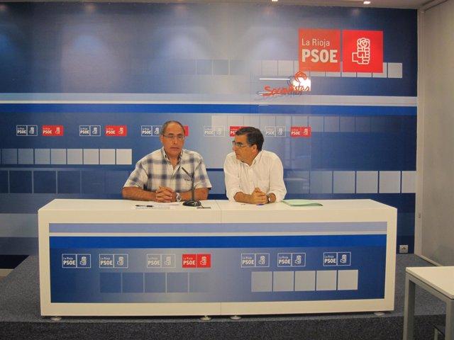 Domingo Dorado y Pablo Rubio, en rueda de prensa