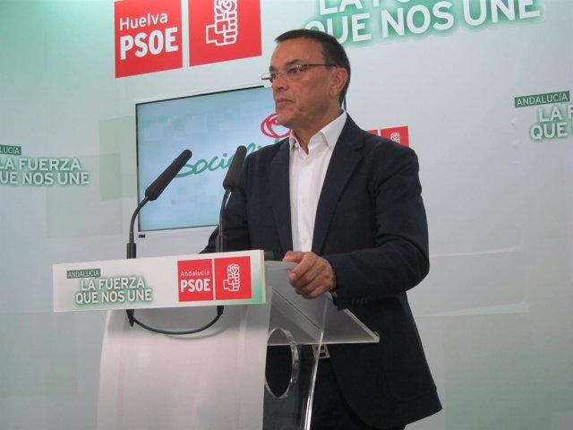 Ignacio Caraballo, presidente del Patronato de Turismo de Huelva.