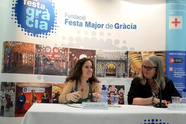 Presentación de la Festa Major de Gràcia 2014