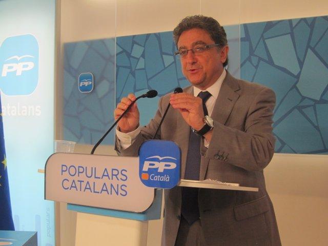Enric Millo, portavoz del PP catalán