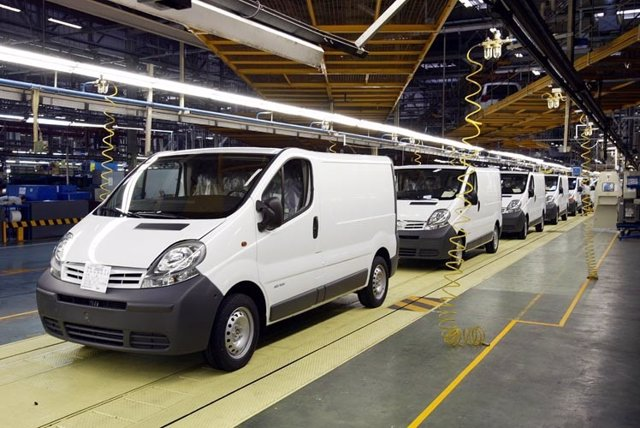 Producción del Nissan Primastar en Barcelona