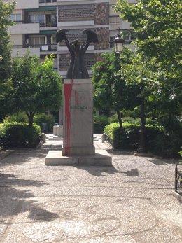 Monlolito en Bibataubín dedicado a Primo de Rivera