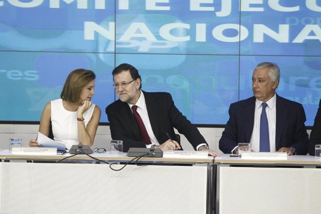 Comité Ejecutivo del PP con Rajoy y Cospedal