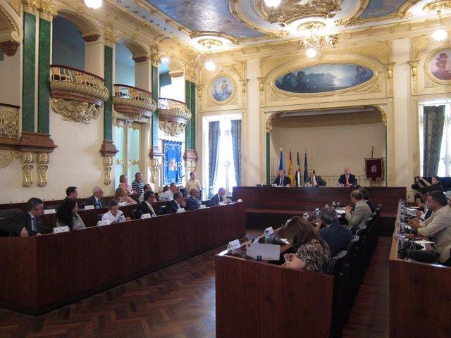 Pleno diputación de Badajoz