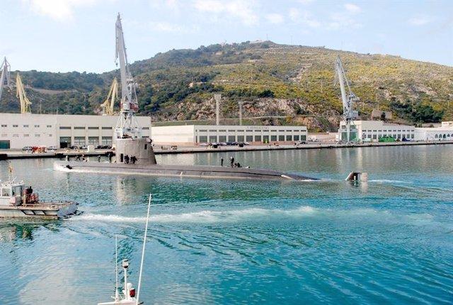 Submarino 'Tramontana' En Una Imagen De Archivo