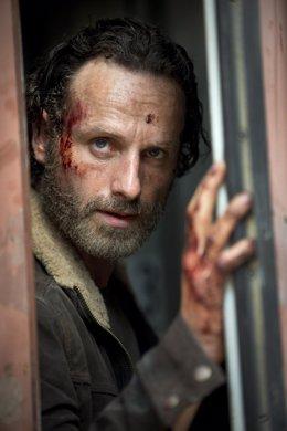 Andrew Lincoln como Rick Grimes en The Walking Dead