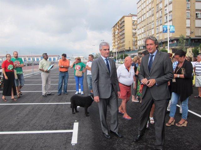 Inauguración aparcamiento barrio pesquero
