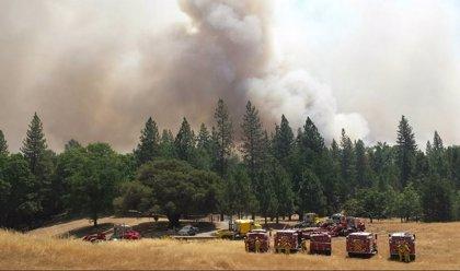 El incendio del norte de California ya ha destruido 10 casas y 7 estructuras