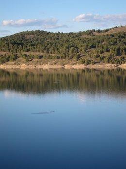 Embalse de la Cuenca del Ebro en Aragón