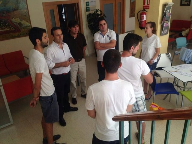 Visita al campamento de inglés del albergue de Cazorla (Jaén)