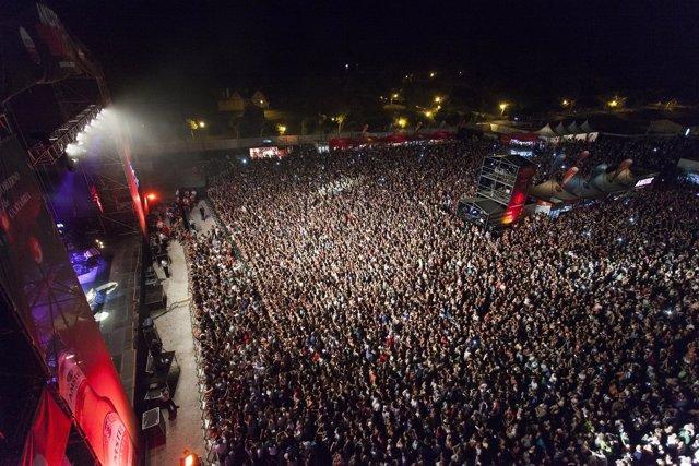 Público, concierto, Amstel Music, Santander.