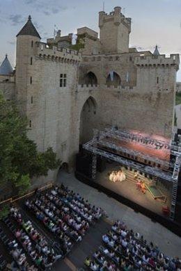 Festival de teatro clásico de Olite.