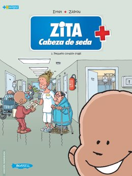 Portada del cómic de Zita, editado por Editorial Rosell