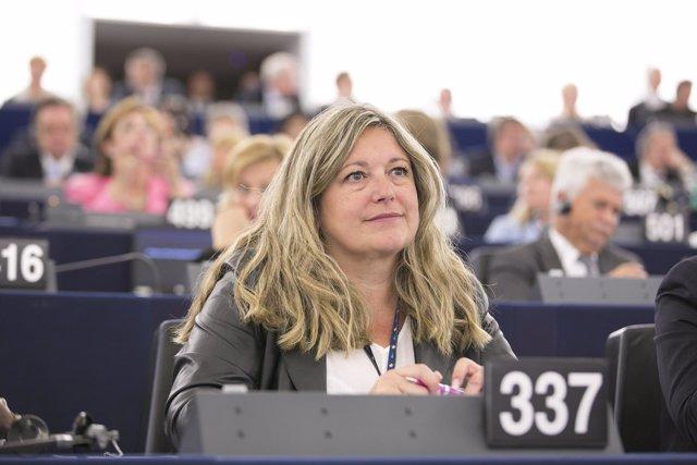 La eurodiputada riojana, Esther Herranz