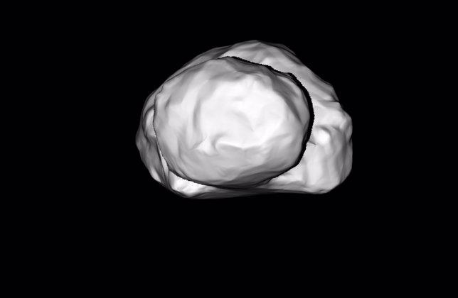 Cometa que sigue Rosetta
