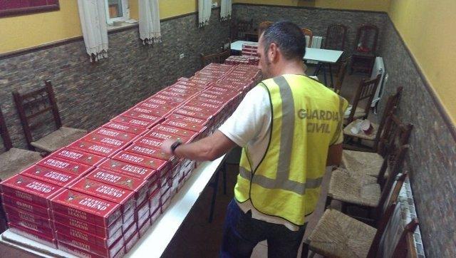 Tabaco de contrabando en Ronda