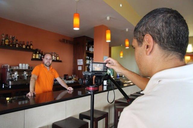 Geolocalización de un negocio en El Hierro