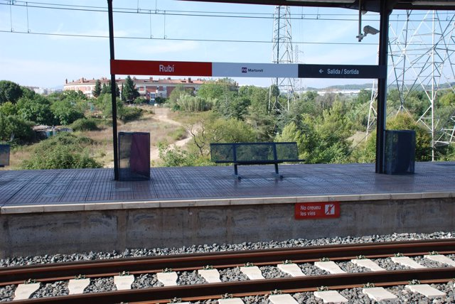 Estación de tren de Rubí