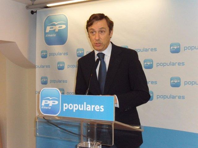 El diputado nacional del PP de Almería Rafael Hernando
