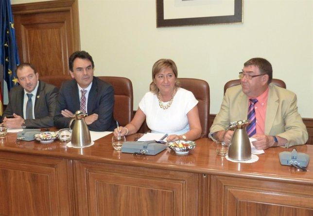 Pleno de la Diputación Provincial de Teruel.