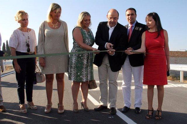 Sebastián Pérez inaugura la circunvalación entre Las Gabias y Alhendín
