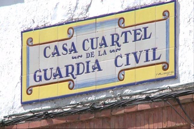 Cuartel de la Guardia Civil de SAnta Amalia