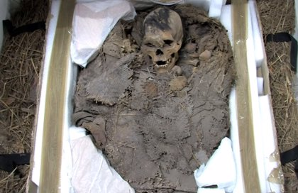 Restos humanos de más de 12.000 años se exhiben en Cancún