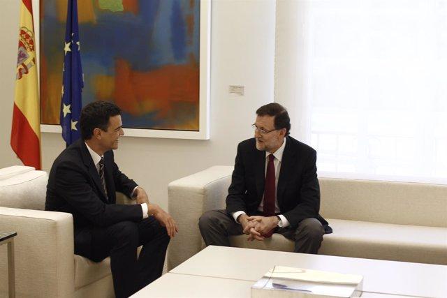 Rajoy y Pedro Sánchez