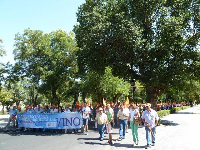 Manifestación UPA Toledo