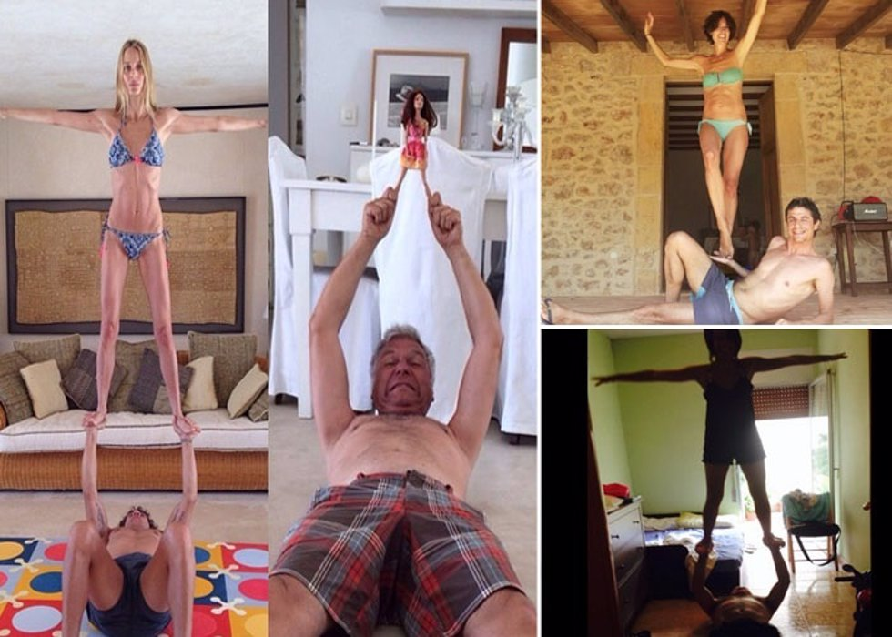 El yoga de vanesa lorenzo y carles puyol incita a muchos for Instagram vanesa lorenzo