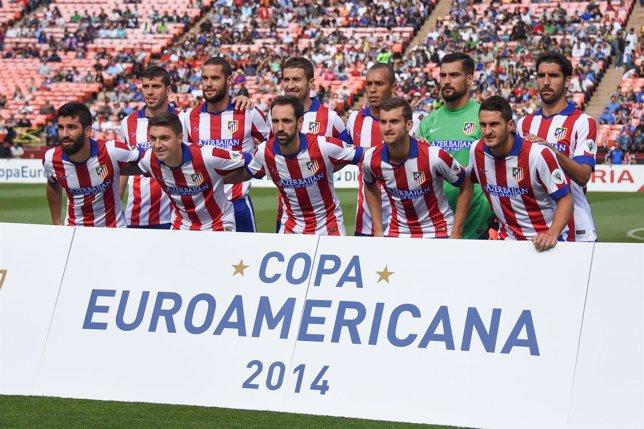 El Atlético de Madrid en la Copa Euroamericana 2014