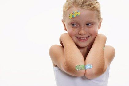 Golpes y fracturas en los niños