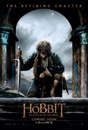 Cartel de El Hobbit: La batalla de los cinco ejérc