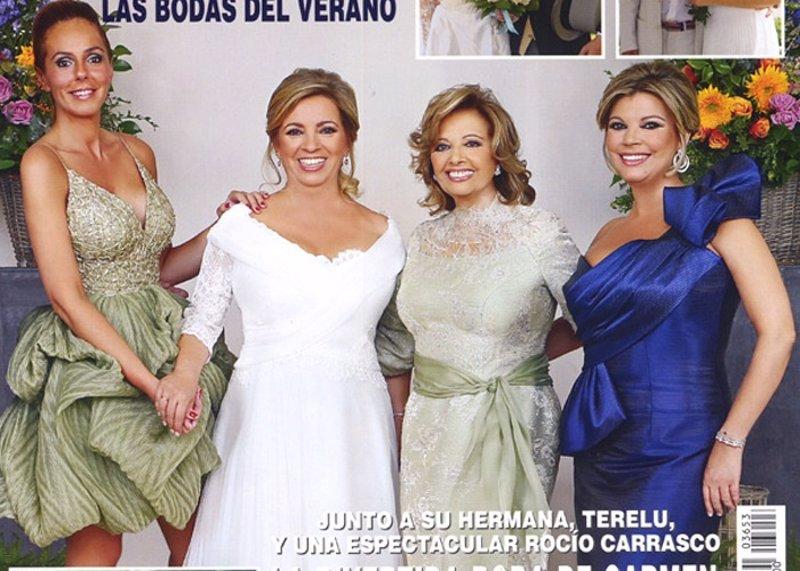 Vestido de novia rocio carrasco