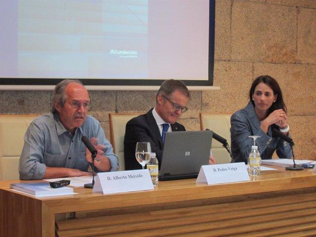 Presentación del 'Informe 2013' de la economía gallega de Afundación