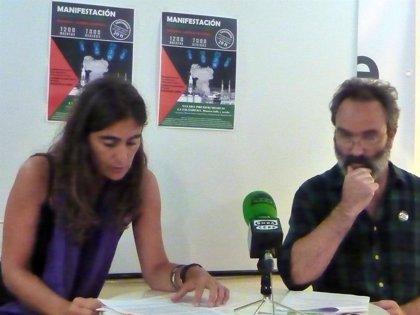 """CANTABRIA.-26 organizaciones cántabras convocan para hoy una manifestación contra el """"genocidio"""" palestino en Gaza"""